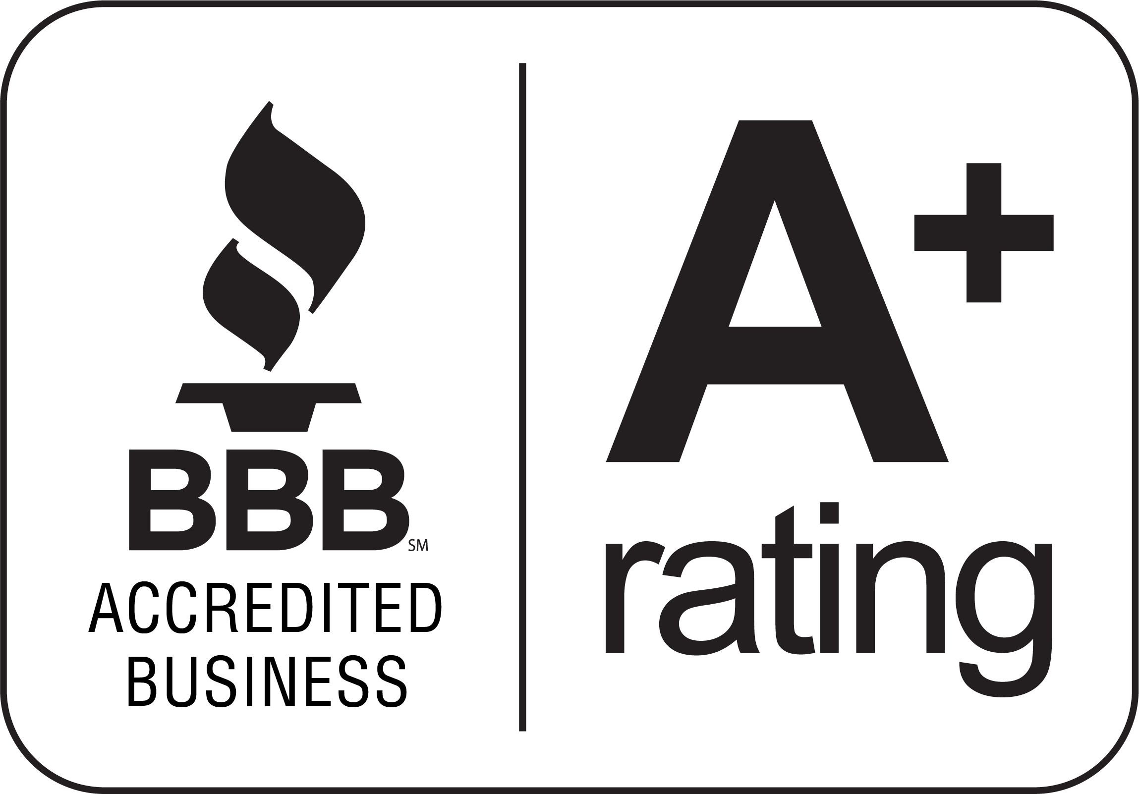 Better Business Bureau - A+ Rated